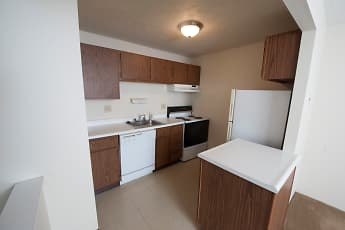 Kitchen, Delshire Apartments, 2