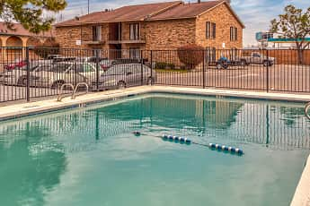 Pool, Greenville Court Apartments, 0