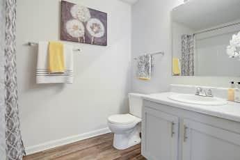 Bathroom, Riverstone Apartment Homes, 2