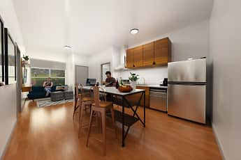 Kitchen, The 505 Student Living, 0