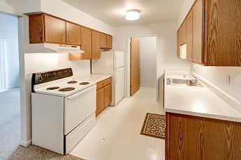 Kitchen, University Place Apartments, 0
