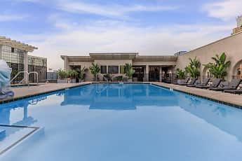 Pool, Broadway Palace Apartments, 1