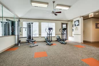Fitness Weight Room, The Treymore In McKinney, 1