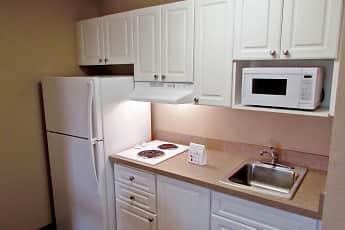 Kitchen, Furnished Studio - Washington, D.C. - Fairfax, 1