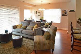 Living Room, The Avery, 1