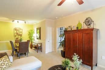 Living Room, Highland Hills Apartment Homes, 1