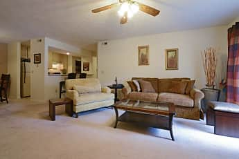 Living Room, The Apartments at Oakbrook Court, 1