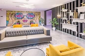 Living Room, Nova Residences of Quincy, 1
