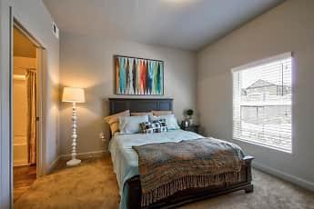 Bedroom, Riverfront Apartments, 0