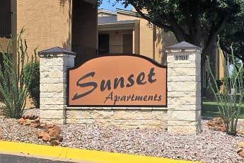 Building, Sunset Apartments, 0