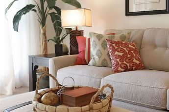 Living Room, 400 Element Apartments, 1