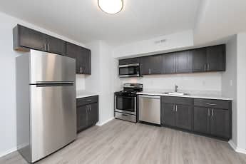 Kitchen, Stone Hill Apartments, 0