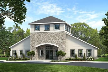 Rendering, Woodland Green in Bloomfield NEW CONSTRUCTION, 2