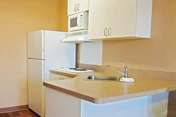 Kitchen, Furnished Studio - Columbia - Ft. Jackson, 1