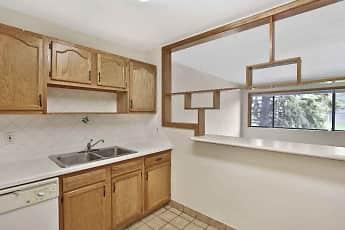 Kitchen, Elmwood Student Apartments, 0