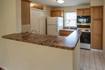 Kitchen, Country Club Manor Apartments, 1