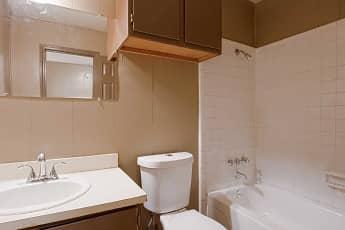 Bathroom, The Apartments @ Lake Hill Dr, 2