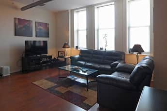 Living Room, The William Brown Lofts, 1