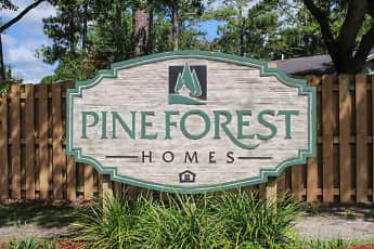 Community Signage, Pine Forest Homes, 2