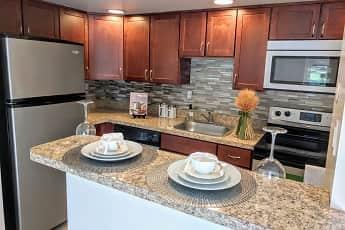 Kitchen, Waterview Apartments, 0