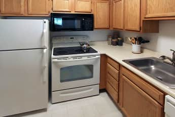 Kitchen, Towne Towers, 0