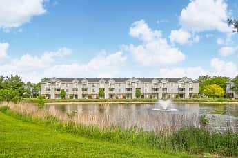 Lake, Pine Knoll Apartments, 0