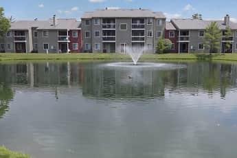 Lake, Deercross Apartments, 0