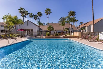 Pool, Palm Court Apartment Homes, 0
