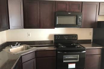 Kitchen, Glencroft Club Apartments, 0