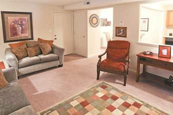 Living Room, Regency Court Apartments, 1