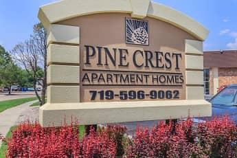 Community Signage, Pine Crest Apartments, 0