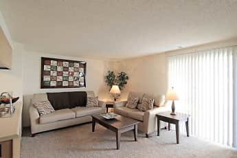 Living Room, Riverwalk Apartments, 0