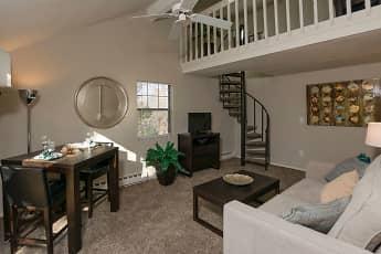 Living Room, Ridgefield Apartments, 0