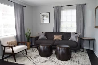 Living Room, Brandywine Townhomes, 0