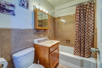 Bathroom, Kent Village, 2