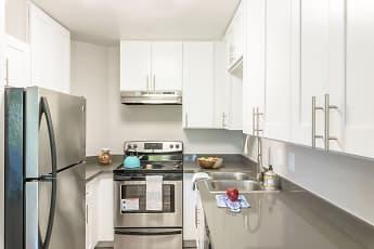 Kitchen, Bridgecreek Apartments, 0
