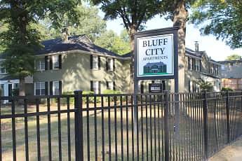 Community Signage, Bluff City Apartments, 0