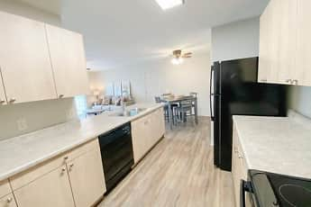 Kitchen, Fountain Springs Apartments, 0