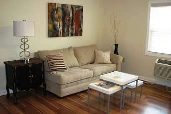 Living Room, Village View Apartments, 0