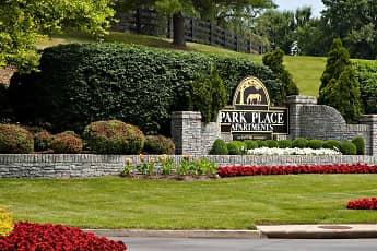 Landscaping, Park Place Apartments, 1