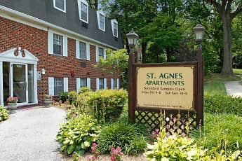 Community Signage, Saint Agnes Apartments, 0