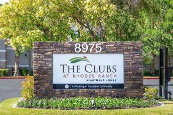 Community Signage, The Clubs at Rhodes Ranch, 0