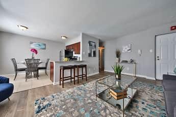 Living Room, North Brook Apartments, 1