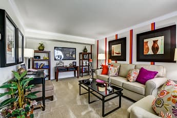 Living Room, Townline Townhomes, 0