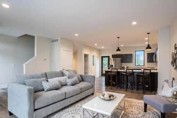 Living Room, Portview Townhomes, 0