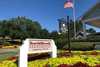 Community Signage, Northbrook Apartments, 0