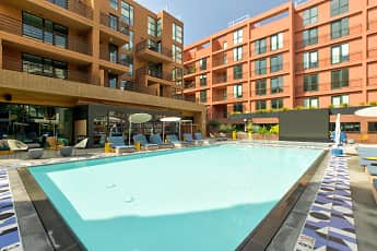 Pool, El Centro Apartments & Bungalows, 0