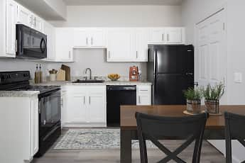 Kitchen, Canyon Park Apartments, 0