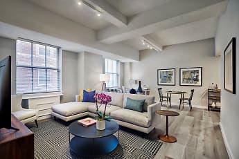 Living Room, The Franklin Residences, 1