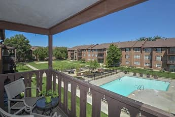 Pool, Village 1 Apartments, 0